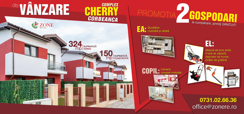 Promotia In Complex Cherry Corbeanca